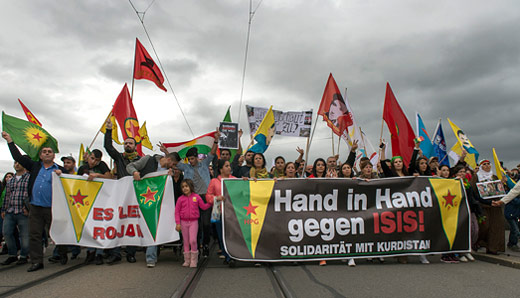 Iranian Communists back Kurds resisting ISIS
