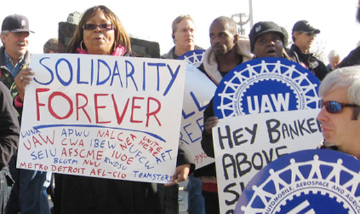 Detroit labor says we are the 99 percent