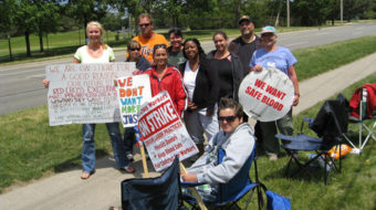 "Striking workers assail Red Cross ""union-avoidance plan"""