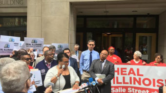 """Community packs hearing on """"LaSalle St"""" financial transaction tax"""