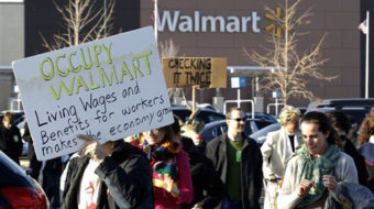 Black Friday at Walmart: Poverty wages keep prices low