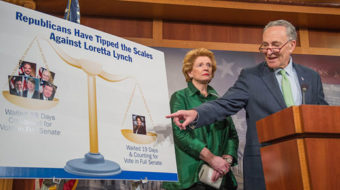 "Senate stalling on Lynch nomination is ""unconscionable"""