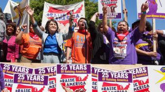 California janitors ready to strike