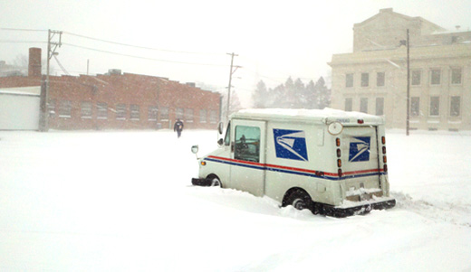 Mailman wonders how he made it through the winter