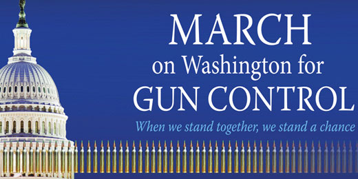 March on Washington for Gun Control set for Jan. 26