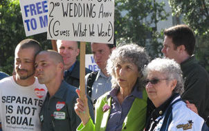 Marriage equality moves forward in California