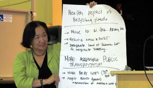 Oakland mayor, residents discuss priorities