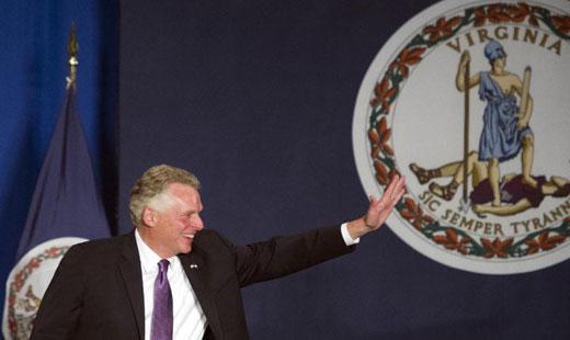 Tea party Republicans set back in Virginia