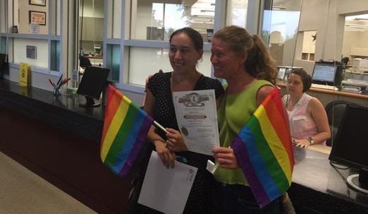 Marriage rights one county at a time in Texas