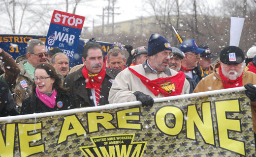 Today in labor history: Miners at Pittston strike