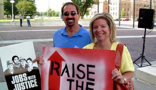 SEIU, Jobs with Justice to push higher minimum wage