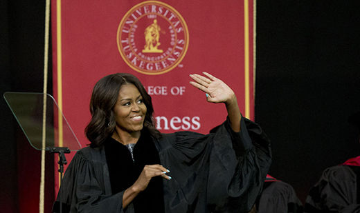Michelle Obama's deeply moving words