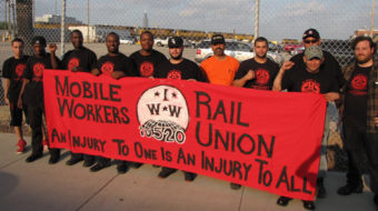 Chicago rail workers to vote on joining IWW