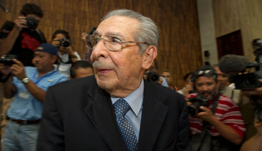 Ex-Guatemalan dictator found guilty of genocide