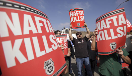 Teamsters highlight contradictions in Mexican trucks case
