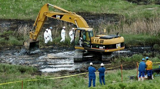 First big North Dakota oil spill since boom began