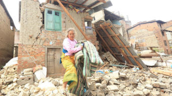 Natural and man-made disasters collide in Nepal