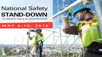 OSHA sets high goals for National Safety Stand-Down event