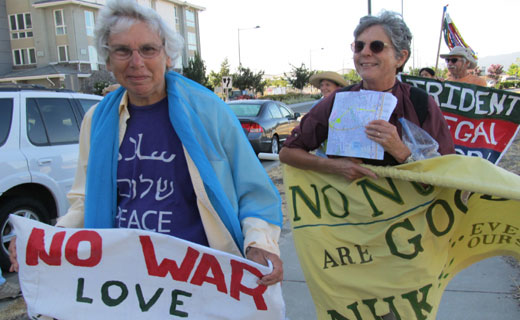 Anti-nuclear weapons activist returns to prison