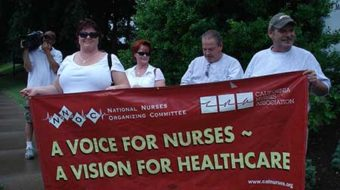 Nurses unite to form largest RN union ever