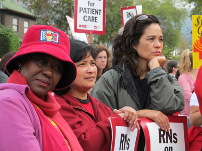 Nurses strike, again, for patient safety and nursing standards