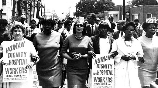 Today in labor history: S.C. hospital workers win union recognition strike