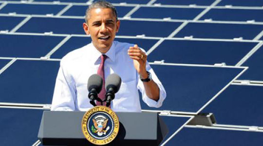 Obama to federal agencies: triple use of clean energy by 2020