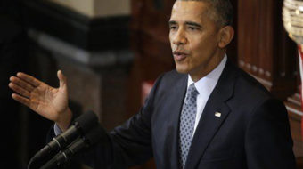 """Obama urges end to """"poisonous political climate"""" in Illinois"""