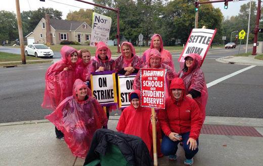 Reynoldsburg, Ohio teachers strike continues as Board of Education digs in