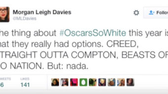 VIDEO: #OscarsSoWhite goes viral