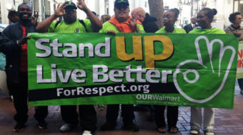 Walmart workers group happy about deal imposed on retail giant