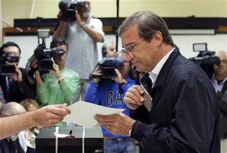 Elections throw future of Portugal's right wing government in doubt