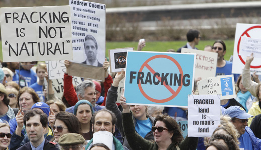 Study suggests fracking wastes could poison drinking water