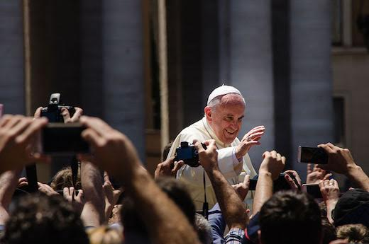 Thank you Pope Francis for talking about climate change