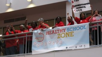Philadelphia principals join teachers to slam mass layoffs