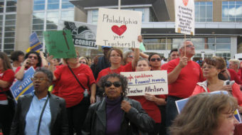 Injunction halts action against Philly teachers contract