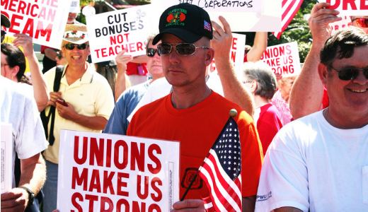 "Florida labor fights ""paycheck protection"""