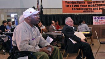 "A call for ""foreclosure-free zones"" at Detroit ""people's hearing"""