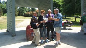 People's World picnic: High spirits, big bucks