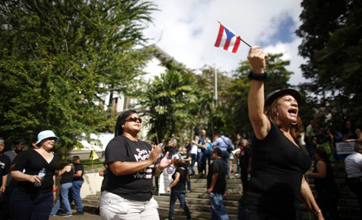 Puerto Rican teachers strike to oppose attack on pensions