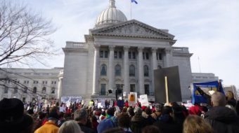 Angry Wisconsin workers occupy Capitol
