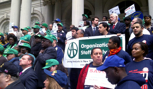 Black public workers first laid off by job cuts