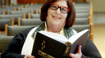 In women's history month: Lesbian rabbi leads Reform Jewish profession