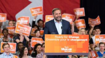 Canada's social democrats drop centrist leader, open debate on left-wing manifesto