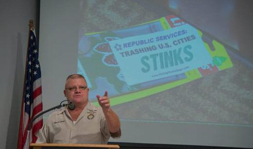 Teamsters' teach-in spotlights environmental injustice at hazardous Missouri landfill