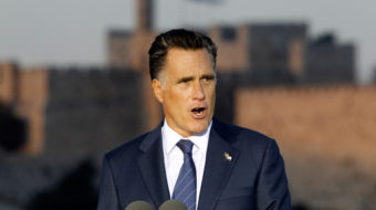 Romney lags among Jewish voters, offends Palestinians too