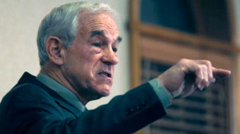 Ron Paul emerges as an opponent of liberty