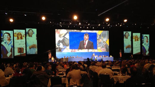 """Trumka urges """"culture shift"""" to build """"real working class movement"""""""