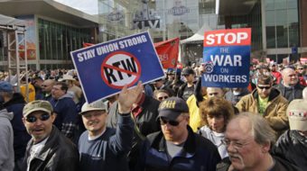 """Dark-money groups building campaign for """"right to work"""" in Pa."""