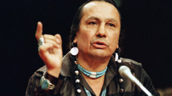 The passing of Russell Means was a loss for the world